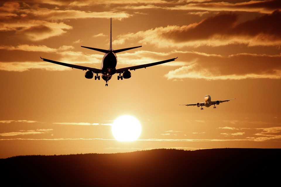 le vol dans les vieux avions